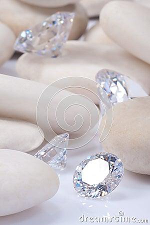 Exponera för diamant