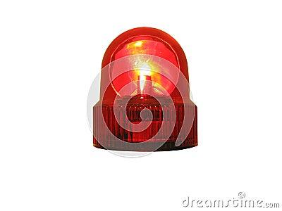 Exponerande lampa res