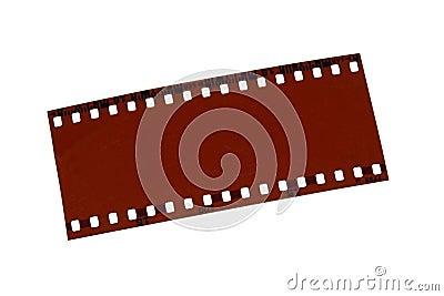 Exposed film
