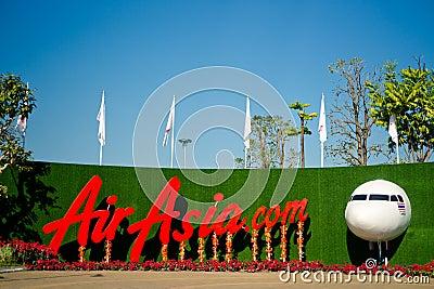 Exposition of AirAsia Editorial Photo