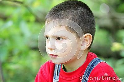 Expresión facial del ensueño