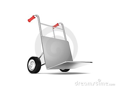 Express delivery hand truck