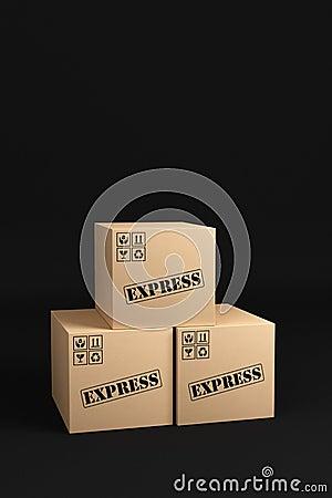Express Shipping Boxes