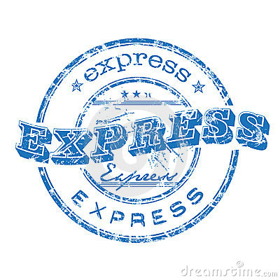 Free Express Stamp Stock Images - 8254004