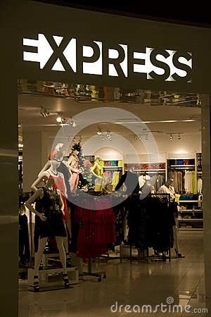 Express store Editorial Photo