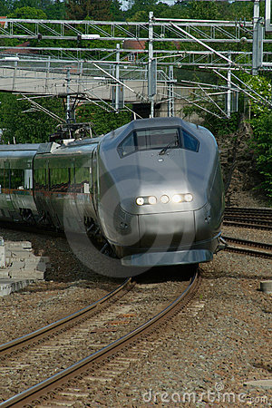 Express-train in Norway