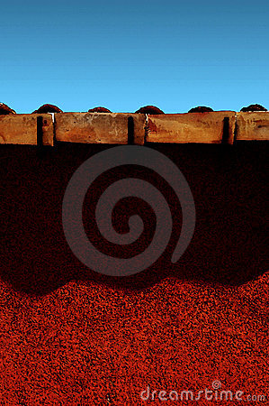 Expressionist Red Wall [01]