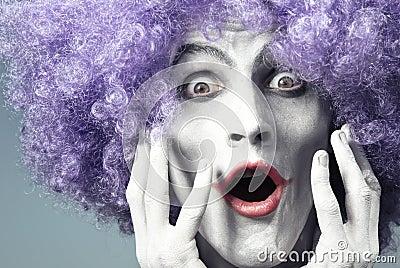 Expressive clown