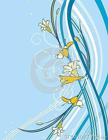 Exquisite floral background