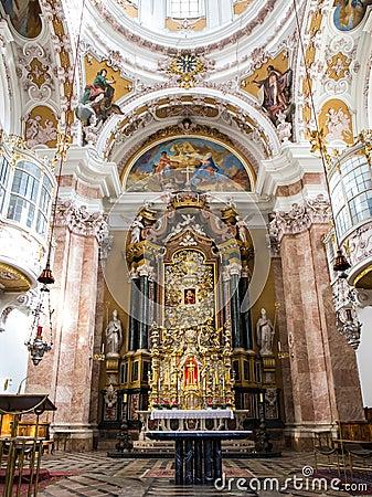 Free Exquisite Interior Of Church, Wieskirche - Steingaden, Germany Stock Photos - 63767723