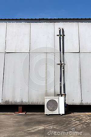 Exterior airconditioning unit