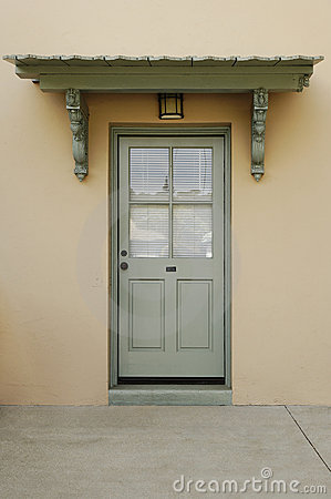 Exterior Of A Back Door Stock Images Image 19921624