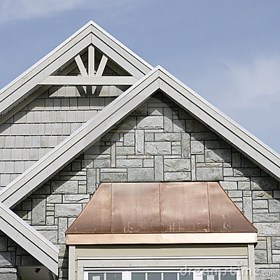 Free Exterior Home Roof Details Stock Photos - 13516863