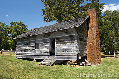 Exterior of Log Cabin