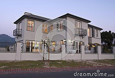 Exterior - modern house