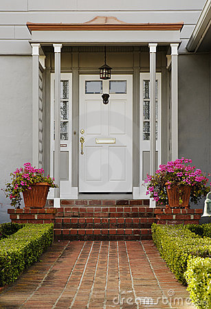 Free Exterior Of A Front Door Stock Images - 19921764