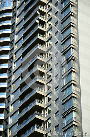 Exterior Patterns of Modern Residential Building