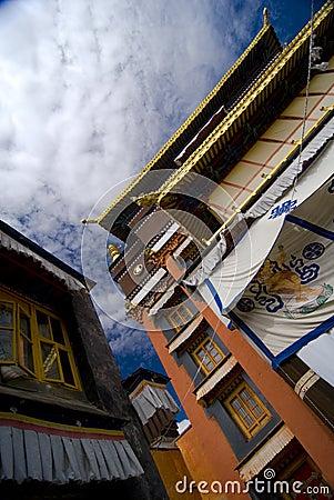 Exterior of Tibetan Monastery