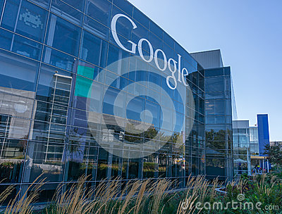 Exterior view of google office editorial stock photo image 46325003 - Google head office photos ...