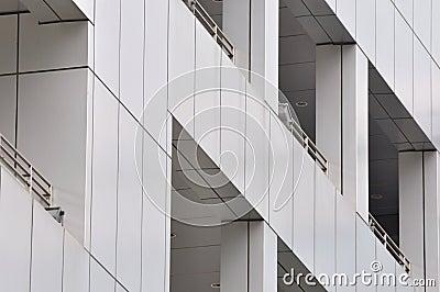 External detail of modern building