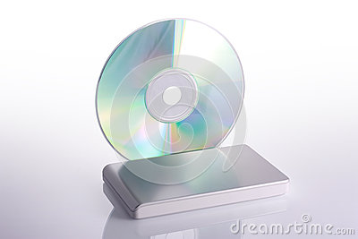External hard disk and blank dvd