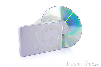 External hard disk and dvd