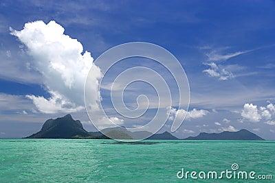 Extinct Volcano Island
