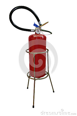 Extinguisher and holder