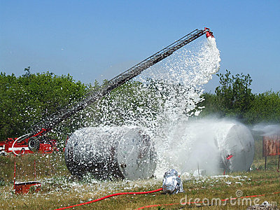 Extinguishing fires