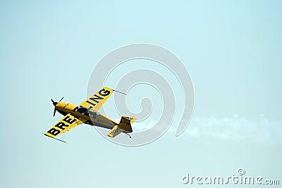 Extra 300 Breitling plane Editorial Image