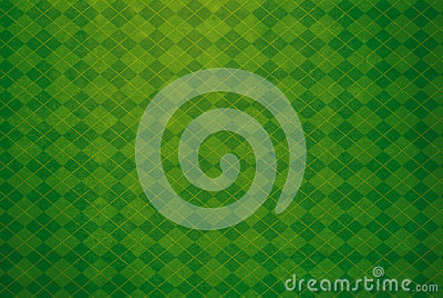 Green Argyle Textured Background