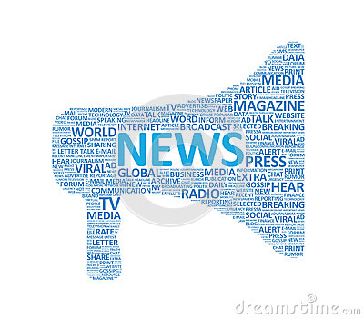 Extra News Megaphone Concept