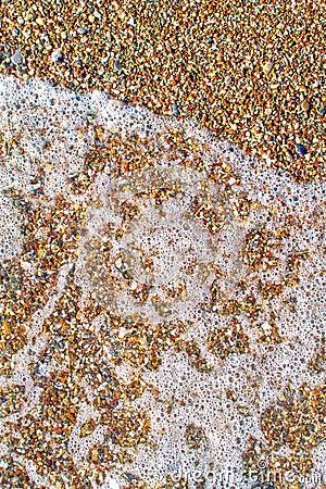 Extracto de la espuma y de las piedras