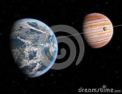 Extrasolar system