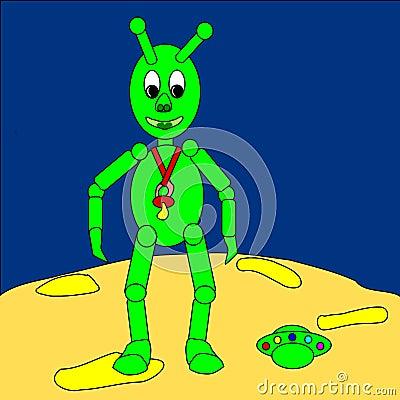 Extraterrestrial baby