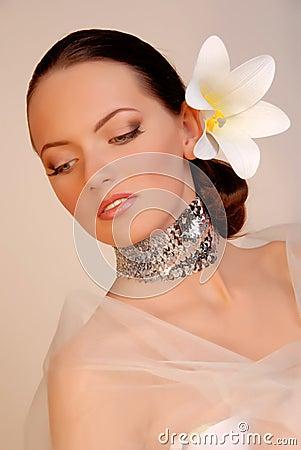 Extravagant bride