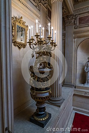 Free Extravagant Houses In America Breakers Mansion Royalty Free Stock Photography - 101519187