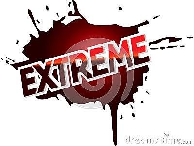 Extreme adventure mud logo graphic text