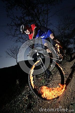 Free Extreme Bikers Stock Photo - 11984070