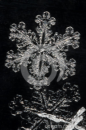 Free Extreme Close Up Of Snow Flake Stock Photography - 28852422