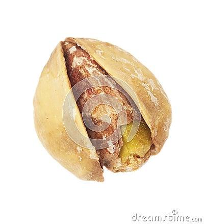 Extreme closeup of pistachio