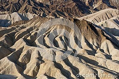 Extreme desert erosion