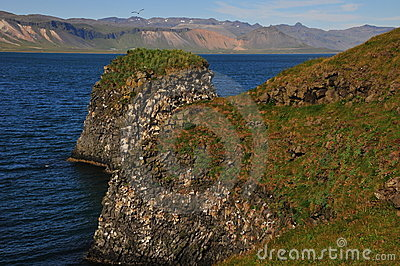 Extreme landscape forms in Iceland