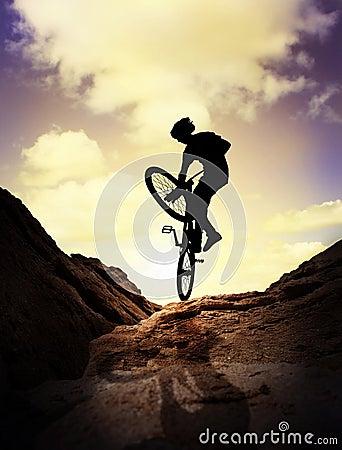 Extreme mountain bike