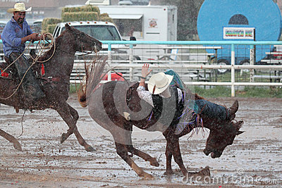 Extreme Rodeo Editorial Stock Photo