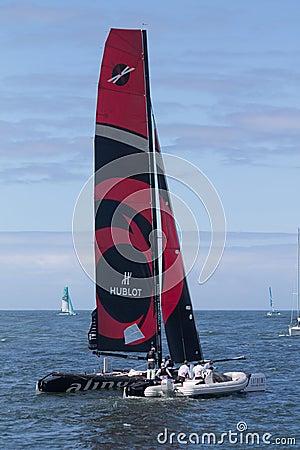 Extreme Sailing Series Editorial Stock Photo