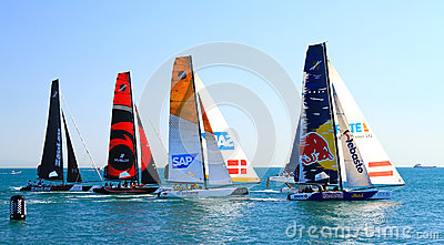 Extreme Sailing Series Editorial Image