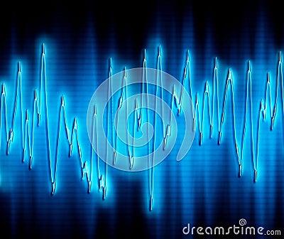 Extreme Schallwelle