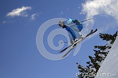 Extreme skier.