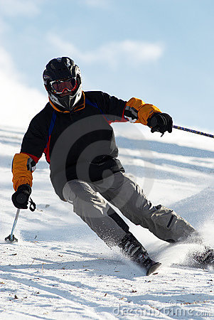 Free Extreme Skiing Stock Images - 1690584